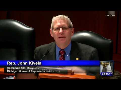 Michigan House Energy Committee 022117   1st smart meter hearing