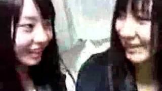First time \(^ー^)/ Fujie Reina's blog 100204 Reinyan's first vid...