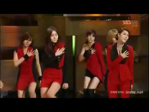 091211 After School - Because Of You @ 2009 Golden Glove Awards