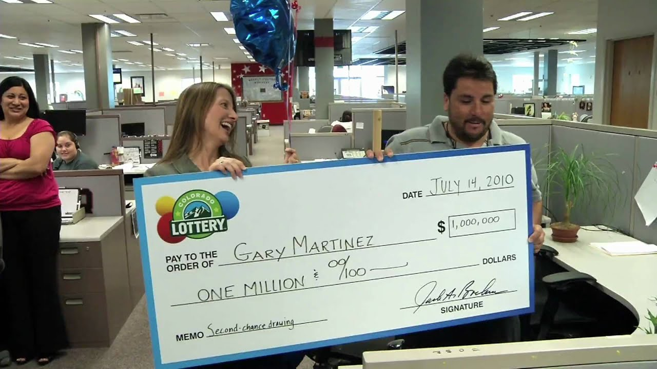 Colorado Lottery Second-Chance Drawing Winner - YouTube