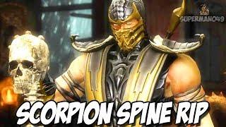"SCORPION FINISHES SUB-ZERO! - Mortal Kombat 9: Story Mode ""Scorpion"" Gameplay (Chapter 3)"