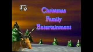Christmas on ITV Tyne Tees 1995 entertainment trailer