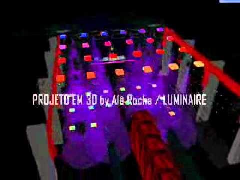 Projeto em 3D para Club´s by Alê Rocha