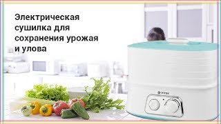 Сушилка для грибов, овощей и фруктов VITEK VT 5053 | Посылка с AliExpress