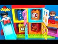 Lego Duplo My First Playhouse -  Kids toys toddler fun - Learn the Colors build a playhouse