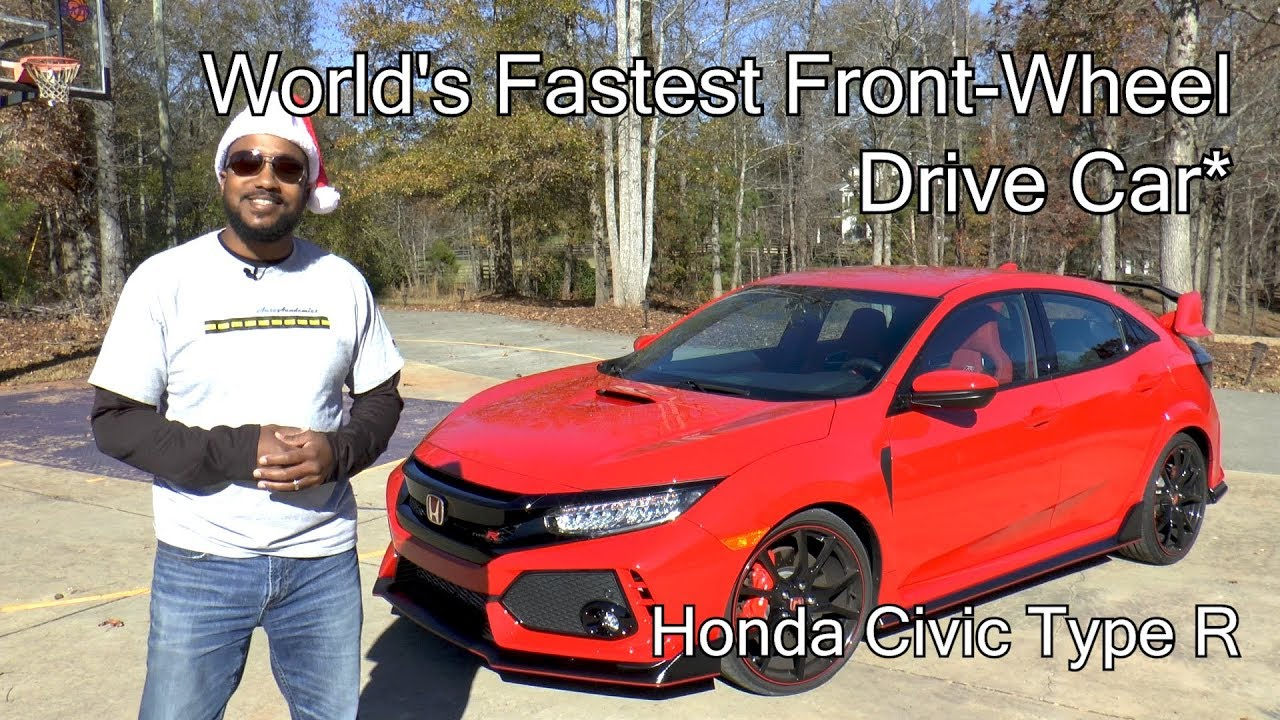 2017 honda civic type r review world 39 s fastest front wheel drive car youtube. Black Bedroom Furniture Sets. Home Design Ideas
