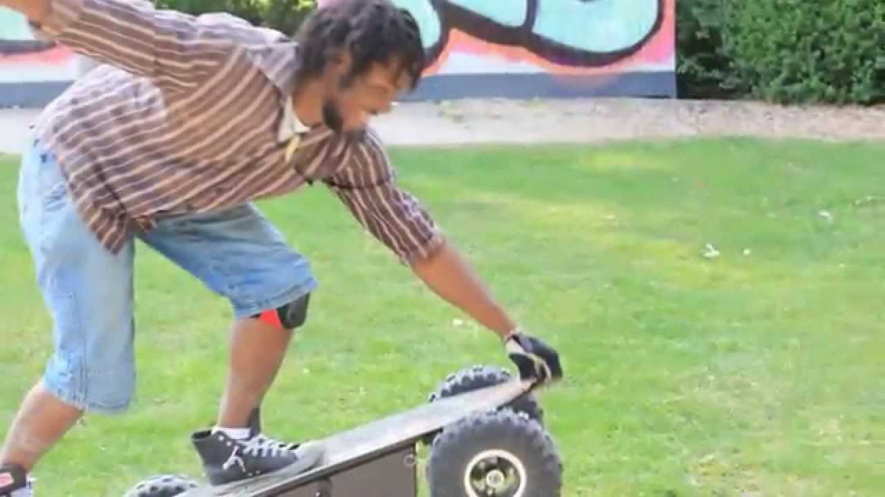 800w electric skateboard offroad youtube. Black Bedroom Furniture Sets. Home Design Ideas