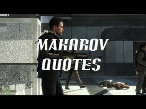 Cod Quotes | Call Of Duty Makarov Quotes Youtube