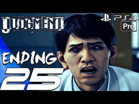 JUDGMENT - Gameplay Walkthrough Part 25 - Ending & Final Boss Fight (Full Game) PS4 PRO