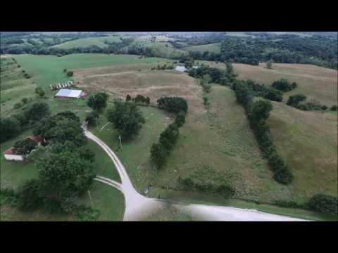 Everett Long Estate Aerial Tour - Monroe County, IA