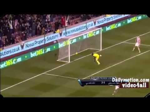 Stoke city vs chelsea 3-2 (7-12-2013)