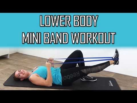10 minute lower body mini band workout  lower body