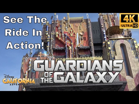Ride In Action & Photo Testing | Guardians Of The Galaxy Mission Breakout | Opening Date