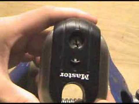 Lock Picking 28 - Masterlock 187 Titanium Series
