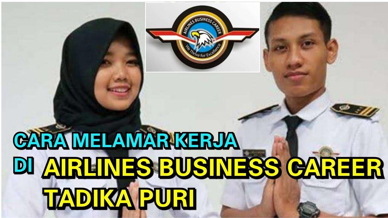 Airlines Business Career Cara Melamar Kerja Staff Bandara Tadika Puri Youtube