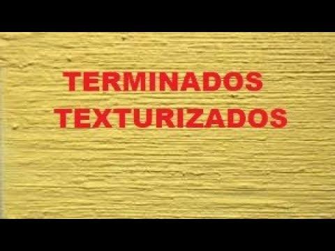 Exhibicion De Terminados De Pasta Texturizada Youtube