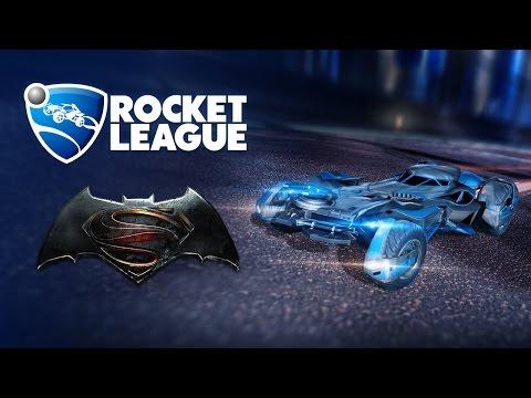 Rocket League - הבאטמוביל מגיעה למשחק במרץ הקרוב!