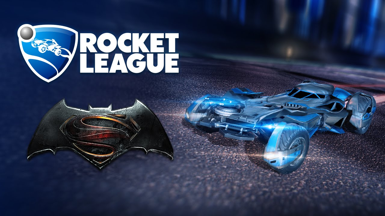 Rocket Leagueu00ae - Batman v Superman: Dawn of Justice Car Pack Teaser ...