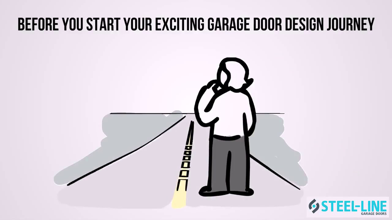 How To Design A Garage Door With Steel Line Visualiser Youtube