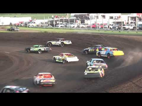 IMCA Stock Car Makeup feature Benton County Speedway 8/12/18