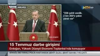 Cumhurbaşkanı Erdoğan, Üzerinden 2 Tank Geçen Gazi Sabri Ünal'la Telefon Görüşmesini Anlatıyor