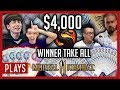 NOC PLAYS: $4,000 Winner Takes All! [Mortal Kombat 11] ft. Zijie, Joshua, Ryan