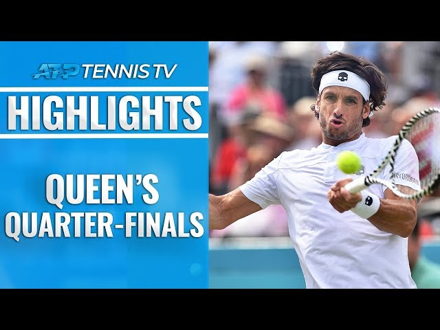 Auger-Aliassime Downs Tsitsipas; Murray Comeback Continues | Queen's 2019 Quarter-Final Highlights