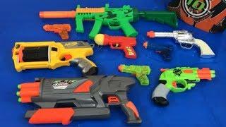 Box of Toys Toy Guns NERF Guns Non Nerf Toy Pistols