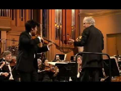 Ray Chen | Tchaikovsky Violin Concerto | 3rd Mvt | Queen Elisabeth Comp | 1 of 2 | 2009