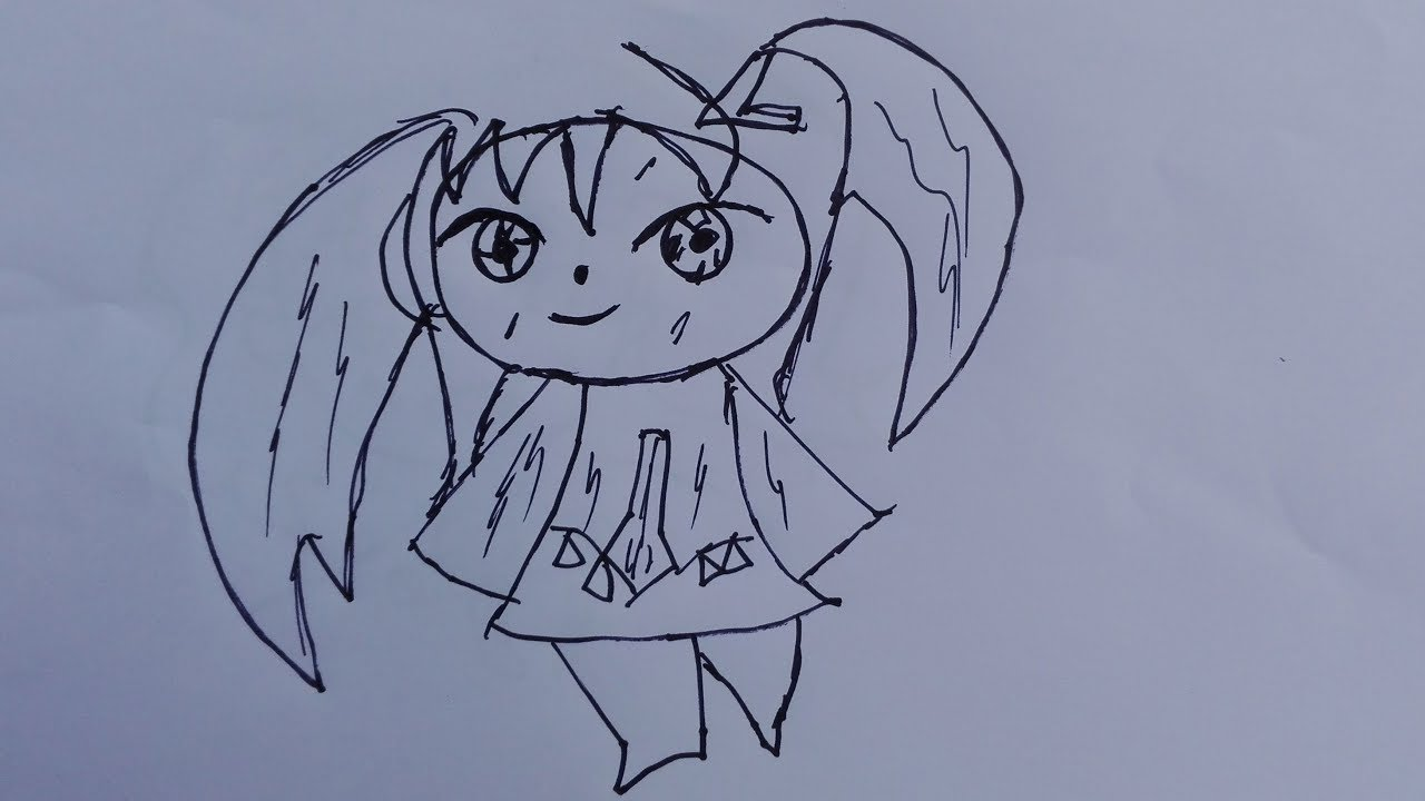 draw chinese anime girl-anime
