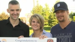 Wounded warrior gets big surprise!