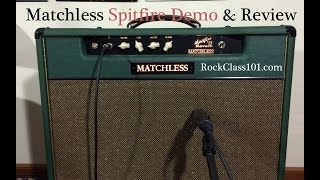Matchless Spitfire Demo & Review