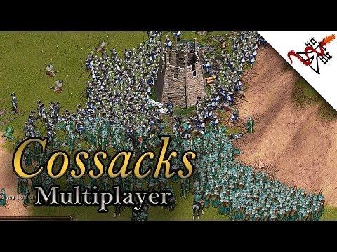 Cossacks Back to War - 1vs1vs1 Multiplayer Gameplay | Total Destruction [1080p/HD]