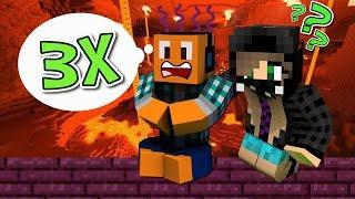 """Minecraft AQUA #26 - """"Zginąłem prawie 3 razy!"""""""
