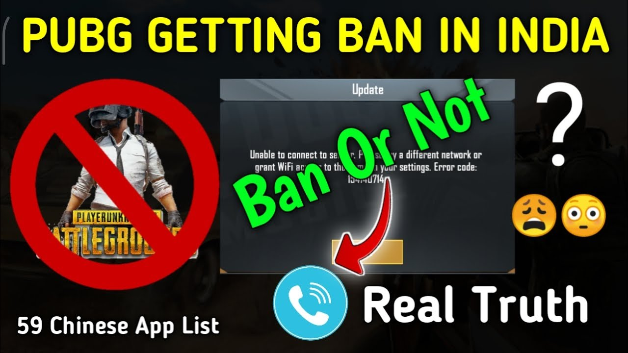 Is Pubg Going To Be Banned In India | 59 Chinese App Ban In India