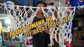 Paano gumawa ng DIY na basketball net
