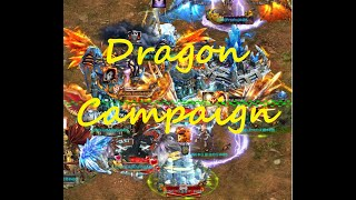 TRY TO RALLY 1G CASTLES! DRAGON CAMPAIGN! UNI KD 486 VS KNE KD 637! (Clash of Kings)