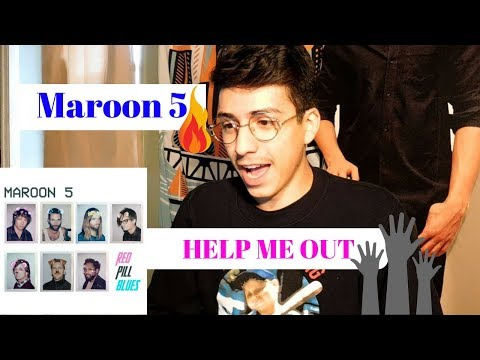 Maroon 5- Help Me Out ft. Julia Michaels (Offical Music Reaction)