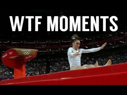 WTF Moments in Gymnastics #1