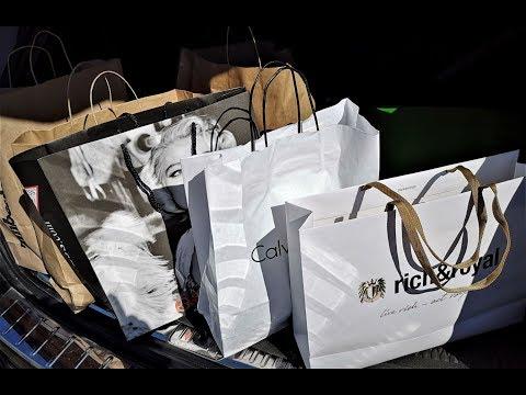 Аутлет Франция скидки 70% Июль 2019 Shopping Влог  Franse SALE