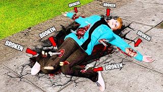 I Broke EVERY BONE In GTA 5.. (MODS)
