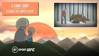 Khabib and his father, Abdulmanap: An animated short story | Father's Plan