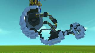 You Spin Me Round Like a Record GlaDOS [Scrap Mechanic]