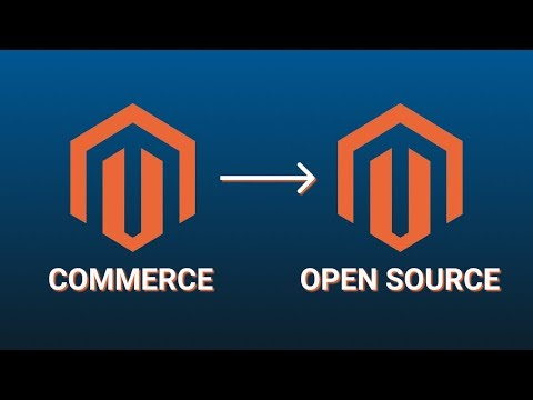 Magento 2 Commerce to Open Source Migration
