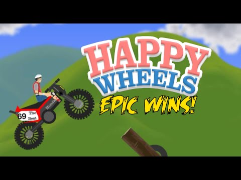 EPIC WINS!! HAPPY WHEELS MADNESS!