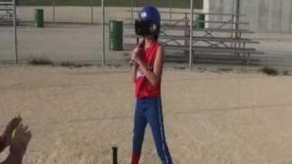 Softball Hitting- Girls Fast Pitch   keep your head eyes on the softball | Head On The Ball