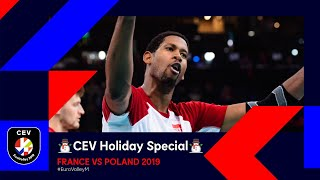 France vs Poland FULL MATCH | #EuroVolleyM 2019 | CEV Holiday Special
