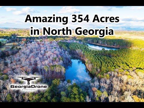 Amazing 354 Acres In North Georgia - Rogers Farm In 4K