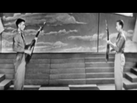 "Corporal Richard Linfors & Corporal John Lloyd ""Drill Team"" on The Ed Sullivan Show"