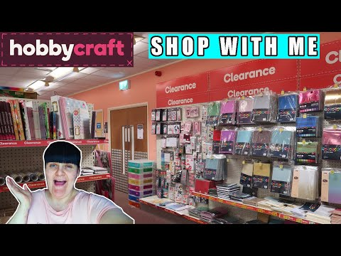 SHOP WITH ME AT HOBBY CRAFT   | ITS VORNY
